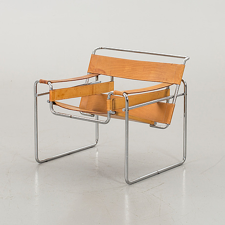 """A marcel breuer """"wassily"""" armchair, second half of 20th century"""