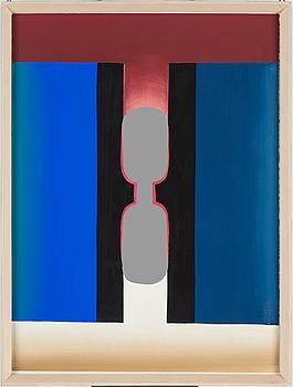 JAN BERDYSZAK, akvarell, signerad och daterad a tergo 1969.