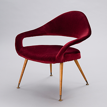 DU 55 P  ARMCHAIR  BY GASTONE RINALDI.  Model designed in 1954.