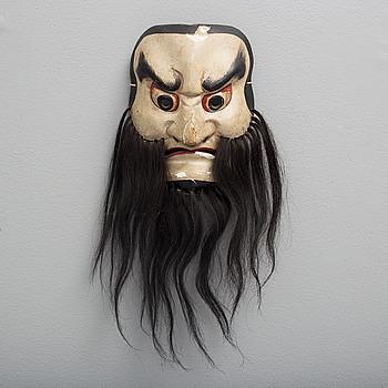 MASK, trä. Japan, 1900-tal.