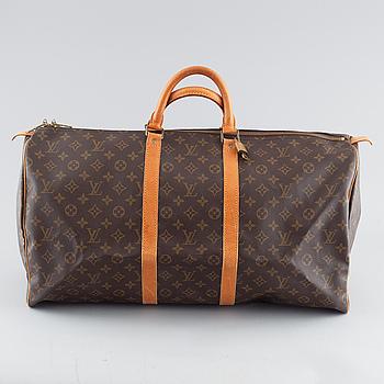 "LOUIS VUITTON, väska, ""Keepall 55""."