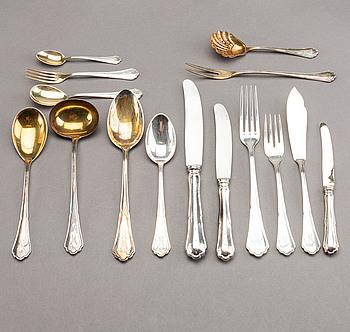 118 pcs silver Cutlery.