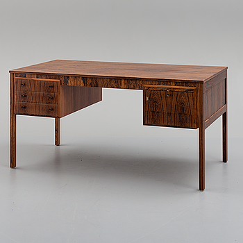 A 1950s/1960s writing desk by Erik Wörtz.