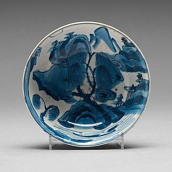 205. SKÅL, porslin. Mingdynastin, 1600-tal.