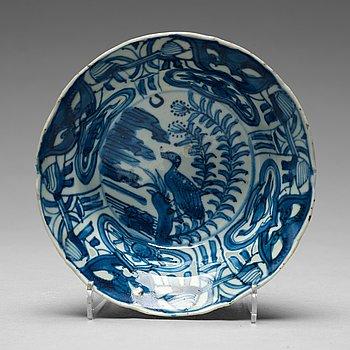 204. SKÅLAR, fyra stycken, kraakporslin. Mingdynastin, Wanli (1572-1620).