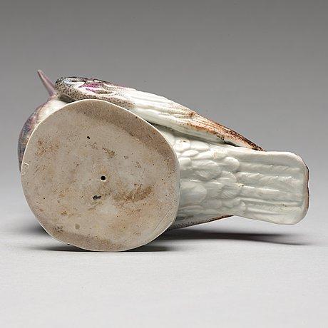 Figurin, porslin. troligen samson