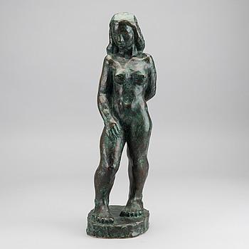 HELGE HÖGBOM, skulptur, brons, signerad samt numrerad 3:8.