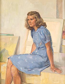 GUNNAR WALLENTIN, olja på duk, signerad och daterad 1940.