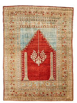 303. MATTA, antik silke Täbris, ca 165 x 122,5 cm.