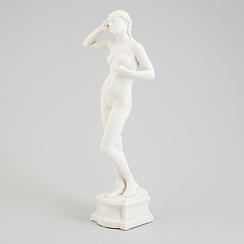 PER HASSELBERG, after. A porcelain skulpture from Gustafsberg, 1905.