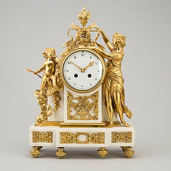 BORDSPENDYL, Japy Frères, Louis XVI-stil, Frankrike, omkring år 1900.