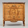 A gustavian 18th century commode in the manner of johan wilhelm metzmacher (master in stockholm 1769-1783).
