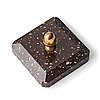 A porphyry paper weight 19th century.