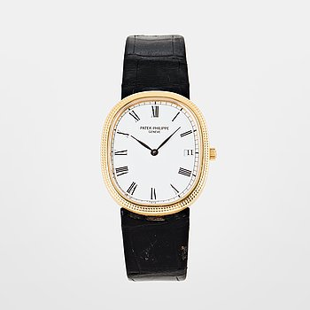 128. PATEK PHILIPPE, Genève, Ellipse, armbandsur, 28,5 x 33,5 mm.