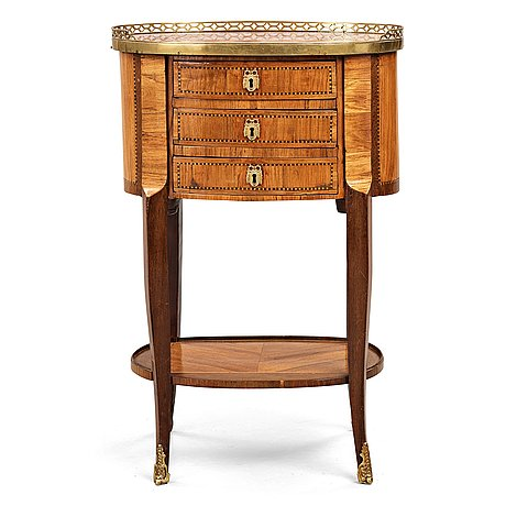 A louis xvi late 18th century table by charles topino (master in paris 1773-1789).