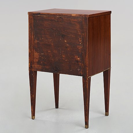A late gustavian late 18th century chamber cup board.