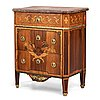 A gustavian commode signed by gustaf foltiern master in stockholm 1771-1804.