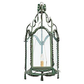 74. LYKTA, för ett ljus, Louis XVI-stil, 1900-tal.