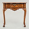 A ducth late baroque 18th century sideboard.