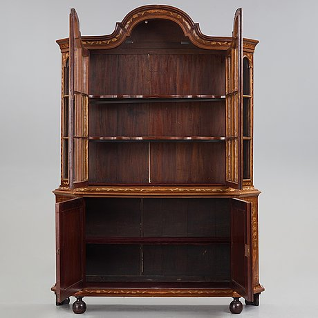 A dutch late 19th century cabinet.