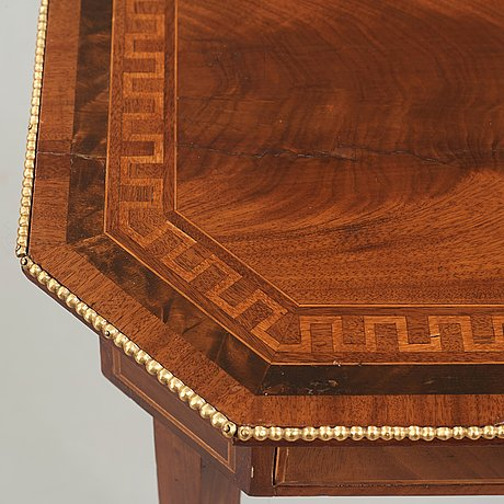 An empire table, first half of the 19th century.