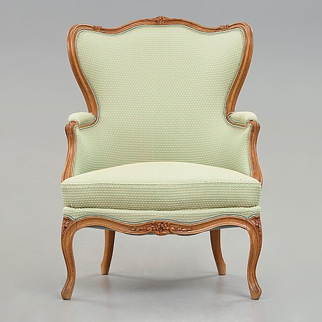 A louis xv 18th century bergere.