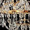 A swedish gustavian 1790's four-light chandelier.