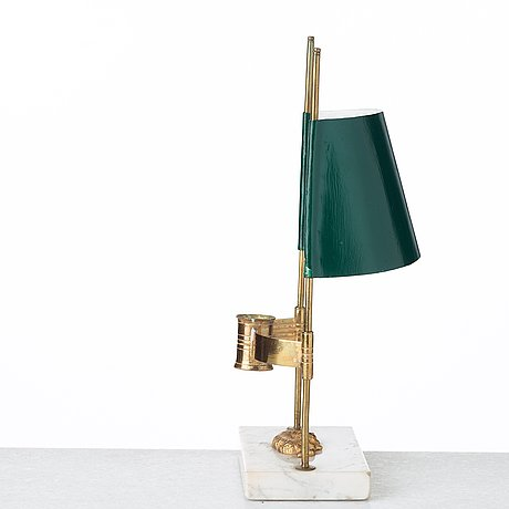 A late gustavian early 19th century table lamp.