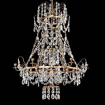 71. LJUSKRONA, för sex ljus, Louis XVI, 1700-talets slut.