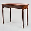 An english regency early 19th century card table.