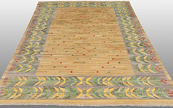 A CARPET, kilim, oriental, around 300 x 200 cm.