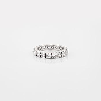 RING, med briljantslipade diamanter 1.92 ct.