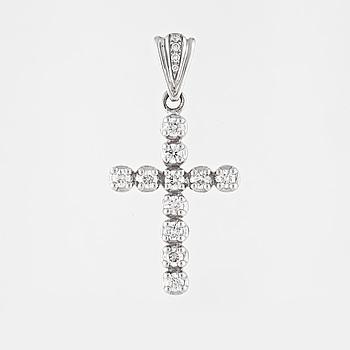 HÄNGE, med briljantslipade diamanter 1.15 ct.