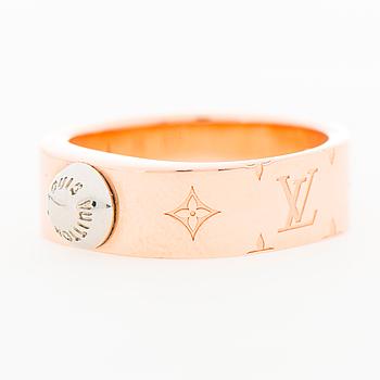 """LOUIS VUITTON, """"Nanogram Pink Gold"""", RING, storlek S."""