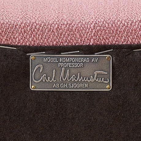 "Carl malmsten, soffa, ""samsas"", ab o. h. sjögren, tranås, sent 2000-tal."