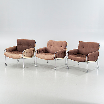 Three chairs from IKEA, 1970s.