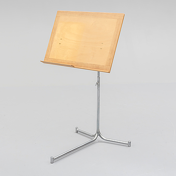 A  reading stand designed by Bruno Mathsson, Karl Mathsson, Värnamo, Sweden, 1967.