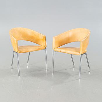 """PELIKAN COPENHAGEN, ett par stolar, """"Addit Swift"""", Danerka, omkring år 2000."""