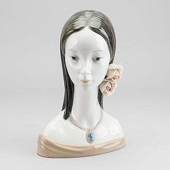 LLADRO, porslin, figurin, Spanien.