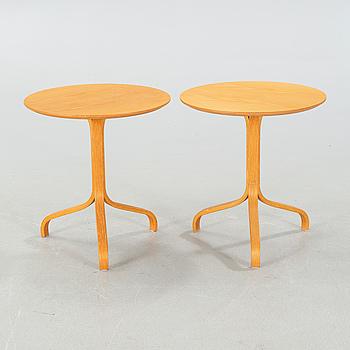 """YNGVE EKSTRÖM, bord, ett par, """"Lamino"""", för SWEDESE, 1900-talets andra hälft."""