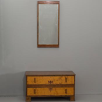 AXEL LARSSON, Hallbyrå med spegel för Bodafors.