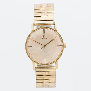 OMEGA, wristwatch 1962, 14K, 33 mm,