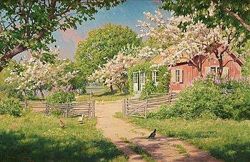 580. Johan Krouthén, Summer landscape.