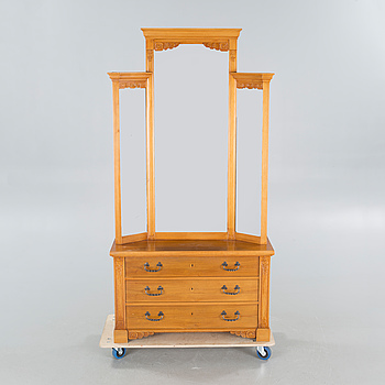 CARL CHRISTIAN CHRISTENSEN, possible, a chest of drawers with mirror, first quarter of the 20th century.