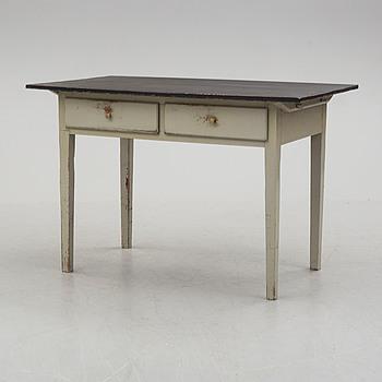 a 19th century writing desk.