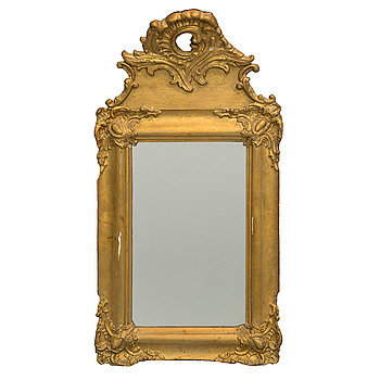 a neo rococo mirror from the second half of the 19th century.