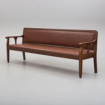 a 1920's sofa.