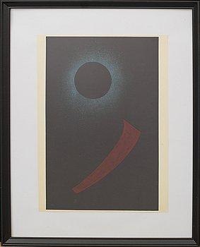 WASSILY KANDINSKY, efter, färglitografi, ur Derrière le Miroir nr 119 1960.
