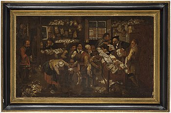 PIETER BRUEGHEL DY, hans art, 1700-tal, olja på duk.