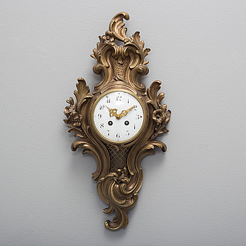 A Franch wall clock from Japy Freres & Cie, circa 1900.